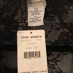 Free people lace shawl